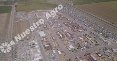 En Expoagro, el banco Santa Fe ofrece sus nuevos créditos para la compra de maquinarias