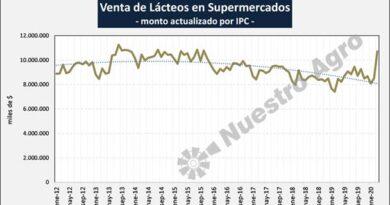 """Lácteos: """"explosión de ventas, producto de las compras de pánico originadas por la cuarentena"""""""