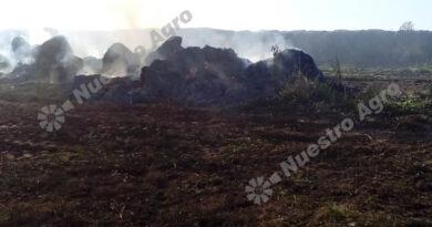 El duro relato de dos hermanos de Humberto Primo que perdieron 30 rollos por un incendio intencional