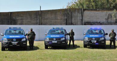 """La Guardia Rural """"Los Pumas"""" cuenta con más móviles para realizar patrullajes y tareas de prevención"""