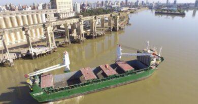 Desde el Puerto de Santa Fe se exportaron 30.000 toneladas en cuatro meses y proyectan más embarques
