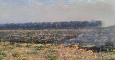 El relato y la resignación del productor que sufrió la quema intencional de 150 rollos en Colonia Bigand