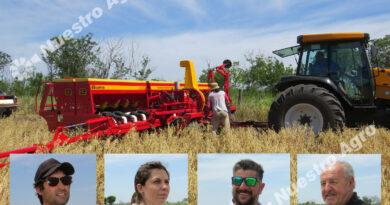 Estrenan una sembradora que se adapta a las circunstancias climáticas y agronómicas