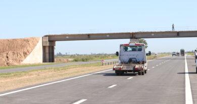 Habilitaron ocho kilómetros más de la Autopista de la Ruta Nacional 34