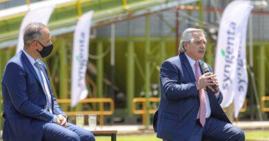 """Alberto Fernández: """"el dilema no es si Argentina es agrícola o industrial, es crecer"""""""