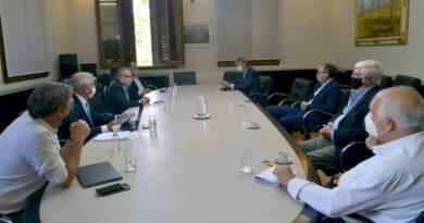 Tras la suspensión de las exportaciones y antes del paro de la Mesa de Enlace, el Consejo Agroindustrial se reunió con Basterra