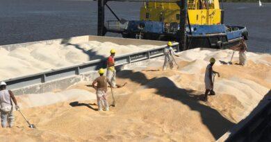 Con unas 80.000 toneladas exportadas, el Puerto de Santa Fe consolida su crecimiento y analiza alternativas