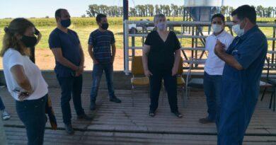 Funcionarios nacionales visitaron emprendimientos lecheros en Córdoba y Santa Fe