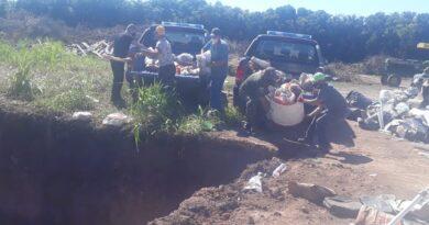 """""""Los Pumas"""" incautaron cerca de 500 kilos de carne no apta para el consumo en Ataliva"""
