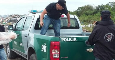 """Mientras aguarda por el destacamento, Rafaela anuncia la llegada de efectivos para """"Los Pumas"""""""