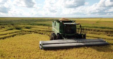 Argentina tiene el primer cabezal de cosecha del mundo construido con fibra de carbono