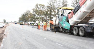 Estiman que las obras sobre la Ruta 70 estarán terminadas a fines de octubre