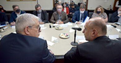 En la previa del anuncio, Perotti y Domínguez presidieron el Consejo Federal Agropecuario